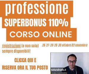 Professione Superbonus 110% corso online detrazioni fiscali decreto rilancio