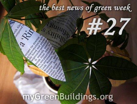 Green Week my Green Building s news 27
