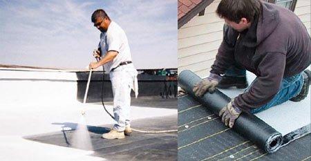 Applicazione materiali tetti freddi