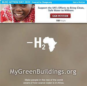 Emergenza Acqua nel Mondo: Blog Action Day 15 ottobre 2010