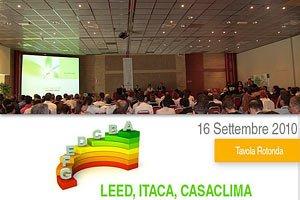 Leed-Itaca-Casa Clima: Sensibilizzare per Vivere Veramente Sostenibile