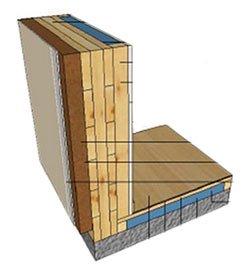 Case in legno X-Lam