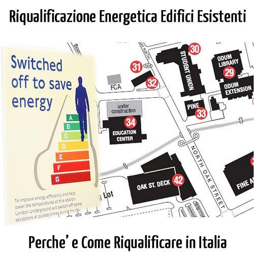 Riqualificazione Energetica Edifici Esistenti: Perchè e Come Farlo su 58 Milioni di Edifici in Italia