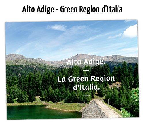 Alto Adige, la regione più green d'Italia