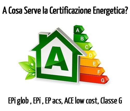 Che utilità ha la certificazione energetica edifici?