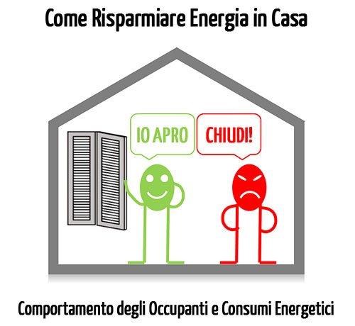 Come risparmiare energia in casa: comportamenti e abitudini degli occupanti