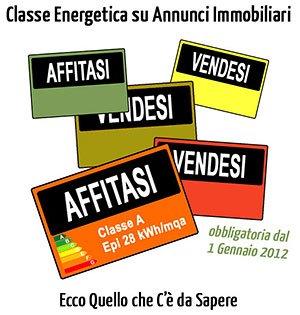 Certificazione Energetica e Annunci Immobiliari dal 1 gennaio 2012: Tutto Quello che c'è da Sapere