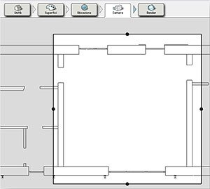 Selezione finestra render Velux Daylight Visualizer