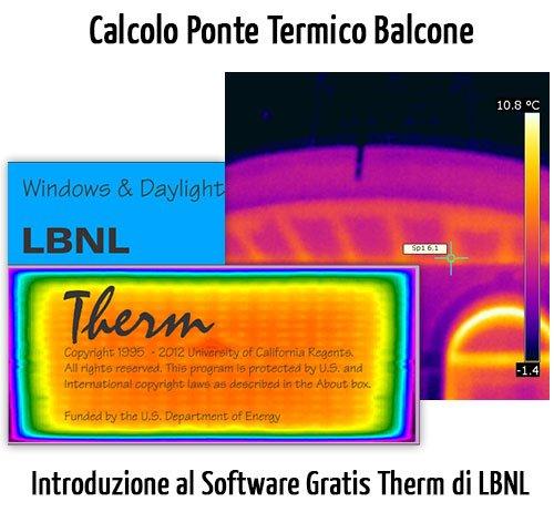 Introduzione a Therm: Calcolo Ponte Termico di un Balcone