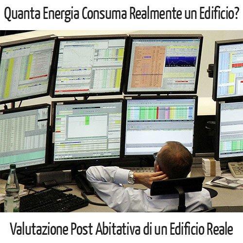 Consumo energetico edificio reale
