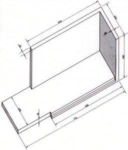 Triedro elemento base tridimensionale