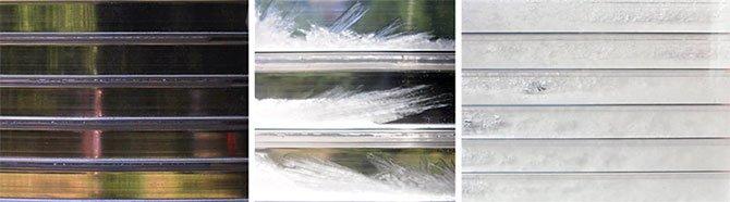 Opacizzazione del vetro con materiali PCM
