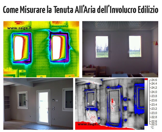 Come Misurare la Tenuta all'Aria dell'Involucro Edilizio: Blower Door Test e Termografia