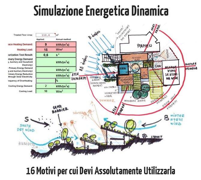 Simulazione Energetica Dinamica: 16 Motivi per cui devi Assolutamente Utilizzarla