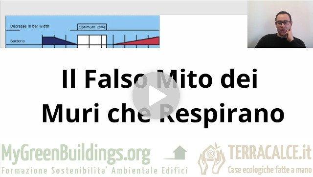 Muri che respirano falso mito