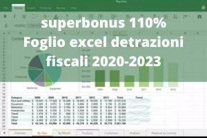 Foglio excel superbonus 110%