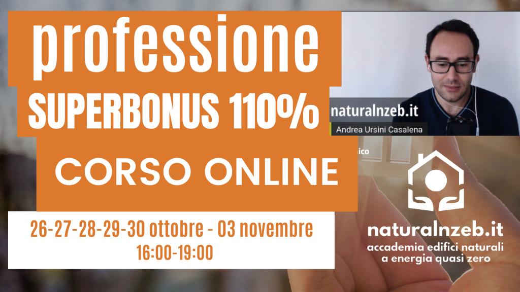 Professione superbonus 110% corso online