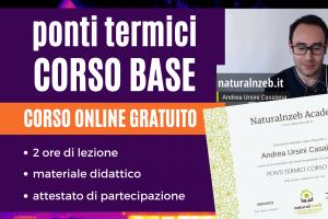Corso Ponti Termici Gratuito Online