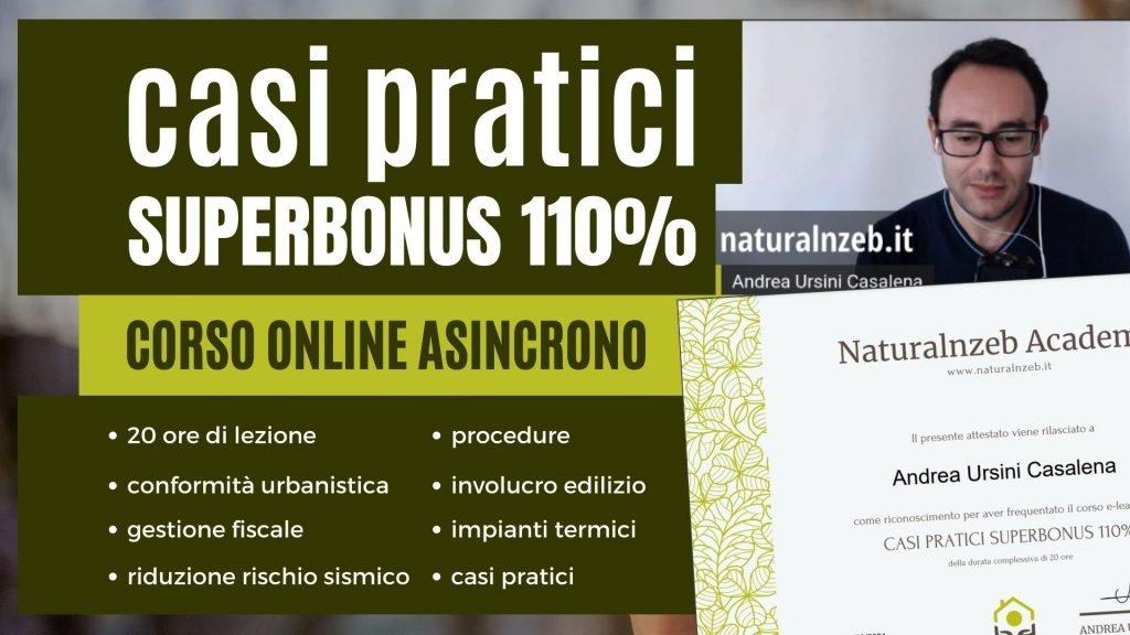 Casi Pratici Superbonus 110 corso online