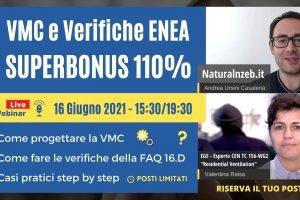Ventilazione Meccanica Controllata con il Superbonus 110%: Come Fare le Verifiche ENEA su Muffa e Consumi